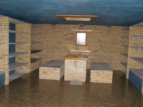 Cripta unde odihneşte Arhim. Sofronie