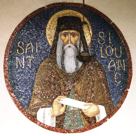 Essex-Sfântul Siluanmozaic