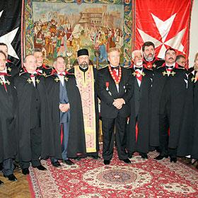 Cavalerii maltezi si un cavaler sfintit al Domnului