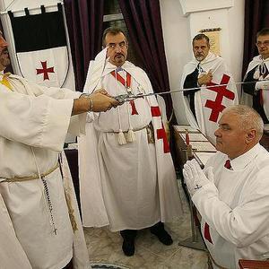 dl. Ion Pusca initiat in ordinul cavalerilor templieri