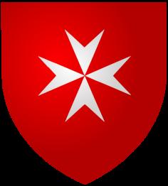 blazonul Ordinului Cavalerilor Maltezi
