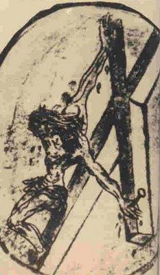 Desen realizat de Sfantul Ioan al Crucii
