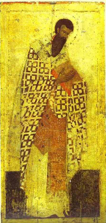Theofan Grecul - Sfantul Vasile cel Mare
