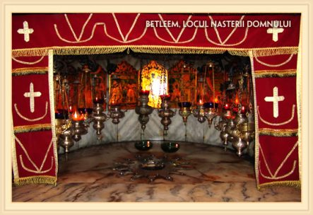 Betleem, pestera Nasterii Mantuitorului