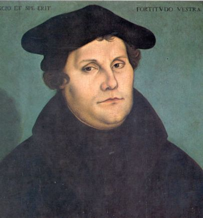 Protestantul Martin Luther