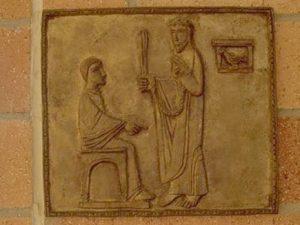 Iisus la Pilat Via dolorosa