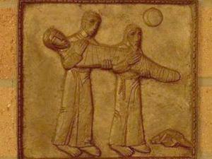 Hristos este infasurat in giulgiu si pus in mormant. Via dolorosa