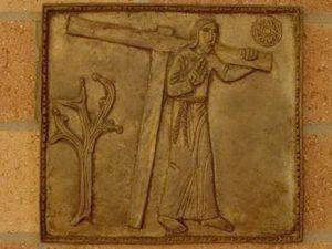 Punerea Crucii pe umerii lui Iisus  Via dolorosa