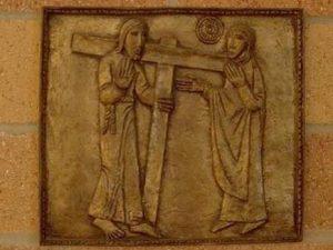 Intalnirea lui Iisus cu Maria, Maica Lui pe drumul Crucii Via dolorosa