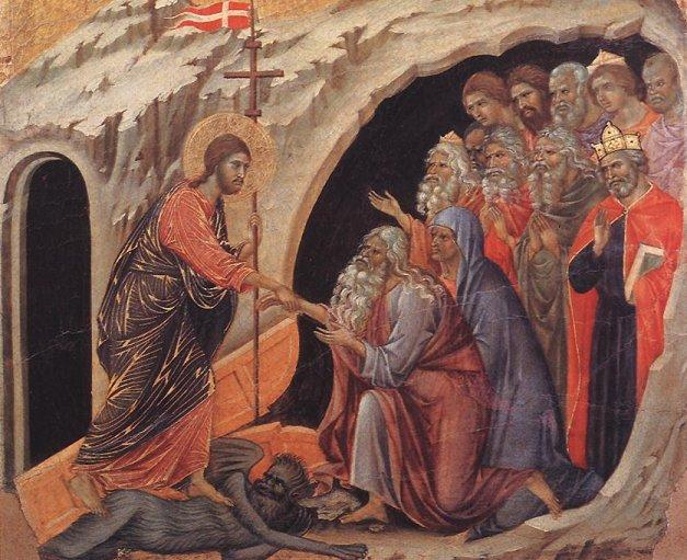 Coborarea la iad a Mantuitorului si Invierea Sa