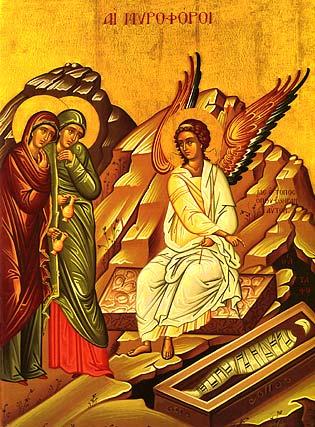 myrrh bearing womens
