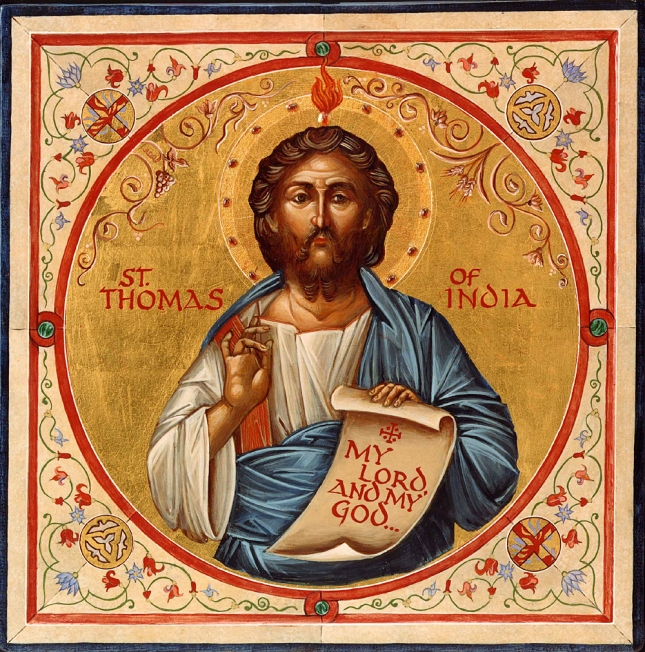 Saint Thomas of India icon