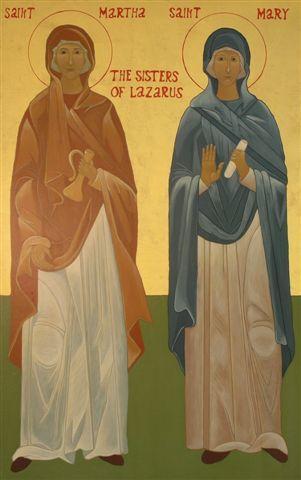 Maria si Marta Mironositele