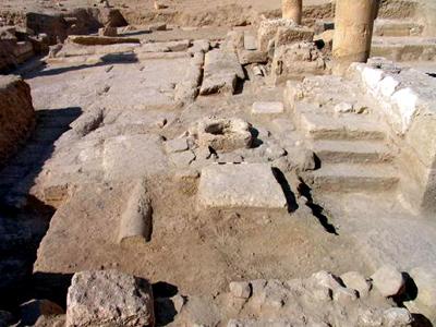 SYRIA-ARCHAEOLOGY-CHURCH