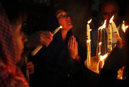 APTOPIX MIDEAST ISRAEL PALESTINIANS CHRISTMAS