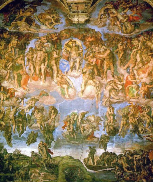 Michelangelo - Fresca Judecatii de Apoi