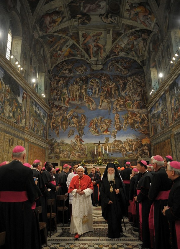 VATICAN-POPE-BARTHOLEMEW I