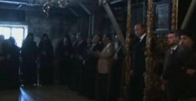 Traian Basescu la Prodromu Athos 5