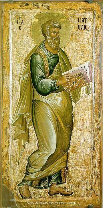 Sfantul Apostol si Evanghelist Matei Matthew