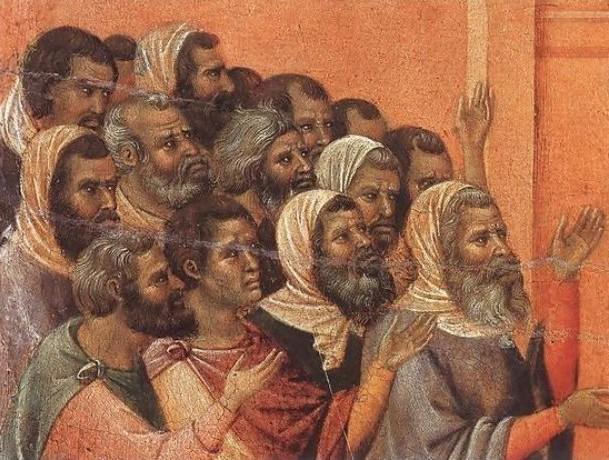 farisei, Pharisees 1308-11 by Duccio Di Buoninsegna.