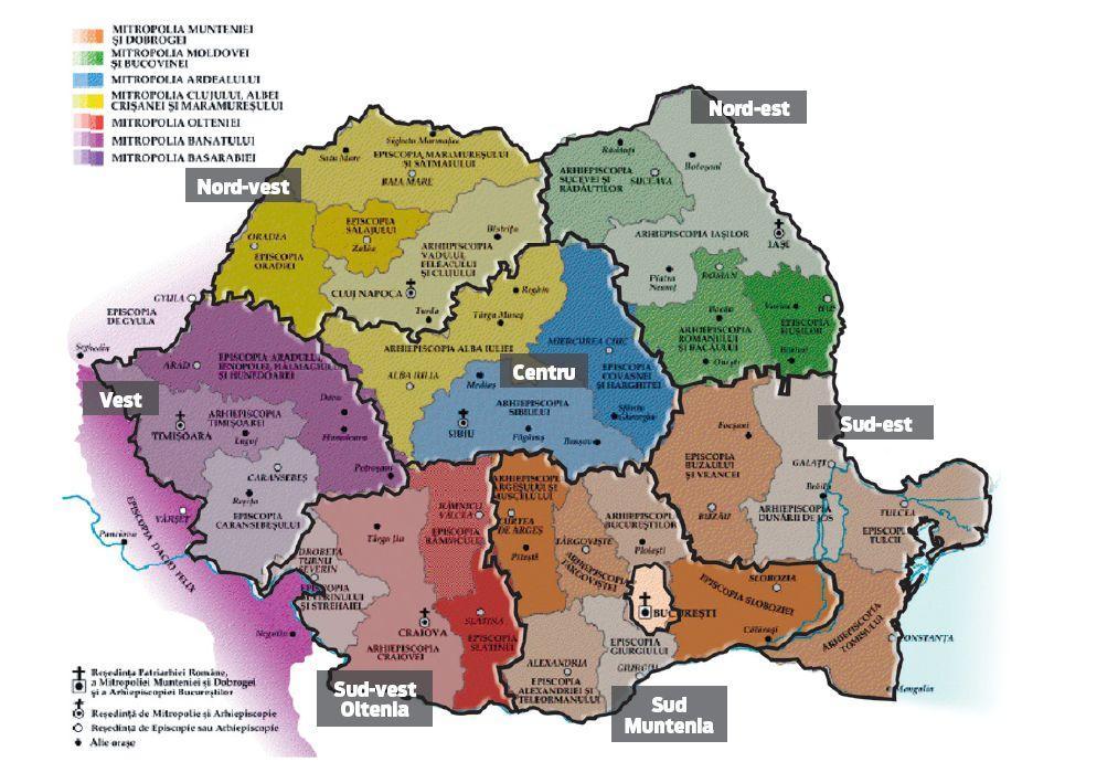 Harta Harta Romaniei Pe Regiuni Ardeal